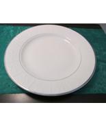 """Pier 1 Porcelain Snowflake 10 3/4"""" Dinner Plate - $9.99"""