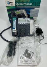 AT&T Speakerphone 974 4 Lines Corded Phone Small Business System w/ Inte... - $39.60