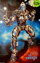 "1997 BATMAN & ROBIN Movie MR. FREEZE GLOW IN THE DARK POSTER 23x34.5"" 30... - $22.99"