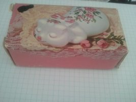 1978 Avon Pampered Piglet Ceramic Pomander Collectible - $14.80