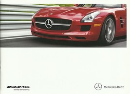 2012 Mercedes-Benz AMG brochure catalog SLS C CL CLS E S SLK ML 55 63 65 - $12.00