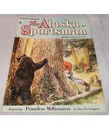 The Alaska Sportsman Magazine August 1953 Beth Eberhart covrer - $6.95