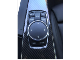 Interior Multimedia Panel Cover Trim for BMW 3 Series F30 F34 F33 F36 2014-2018 - $35.74