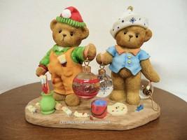 Cherished Teddies Tom and Ted - 3rd In Elf Series 2009  NIB - $59.35