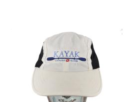Vintage Catalina Island Kayak Spell Out Mesh 4 Panel Hat Cap White Adjus... - $24.70