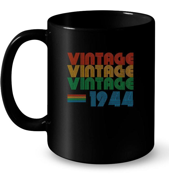 Vintage 1944 Original Parts 74th Years Being Awesome Gift Coffee Mug
