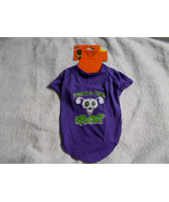 "Halloween Pet Tee Medium  ""Bone-A-Fide SPOOKY""  Fun Shirt - $8.91"