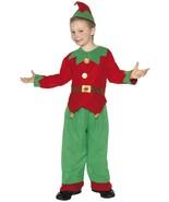 Smiffys Disfraz de Duende Ayudante Santa Unisex Infantil Navidad 24507 - $26.14