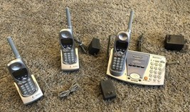 PANASONIC 2.4GHZ KX-TG2700 MULTI-TALK PHONES Cordless BASE Accessory Han... - $148.49