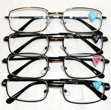 NEW STYLE R340 UNISEX READERS METAL FRAME AND P... - $10.00