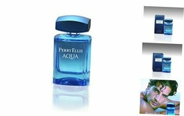 Perry Ellis Aqua Eau De Toilette Spray for Men, 3.4 Ounce - $37.36