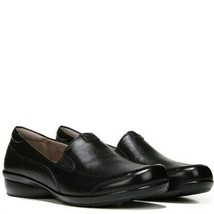 Naturalizer Womens channing Leather Almond Toe Loafers, Black, Size 7.5 - $49.49