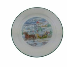 """Dinner Plate Christmas Memories by Corelle Corning Discontinued 10 1/4"""" - $9.00"""