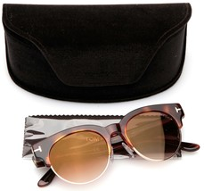 New Tom Ford Henri-02 Tf 598 53G Havana Sunglasses 52-19-145mm B46mm Italy - $107.90