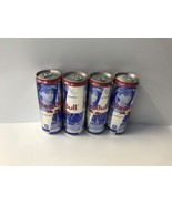 Red Bull Limited Edition Lexi Thompson 12oz Cans. 4 x Full Collector Cans - $42.99