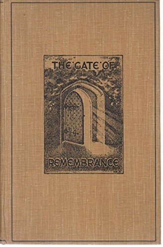 The Gate of Remembrance : the Story of the Psychological Experiment Which Result