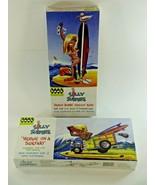 (2) Hawk Classics Silly Surfers Plastic Model Kits Beach Bunny & Woodie ... - $23.64