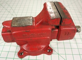 "Vintage Craftsman 3.5"" Bench Vise Anvil Pipe Jaws 506-51801 - $70.13"