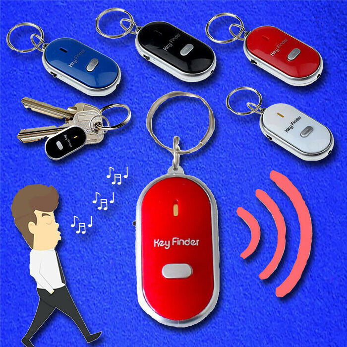 Primary image for LED Light Torch Remote Sound Control Lost Key Finder Keychain