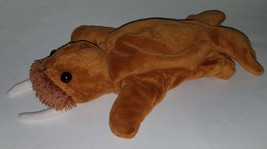 "Caltoy Brown Walrus 12"" Plush Hand Puppet Stuffed Animal Toy Soft - $12.55"