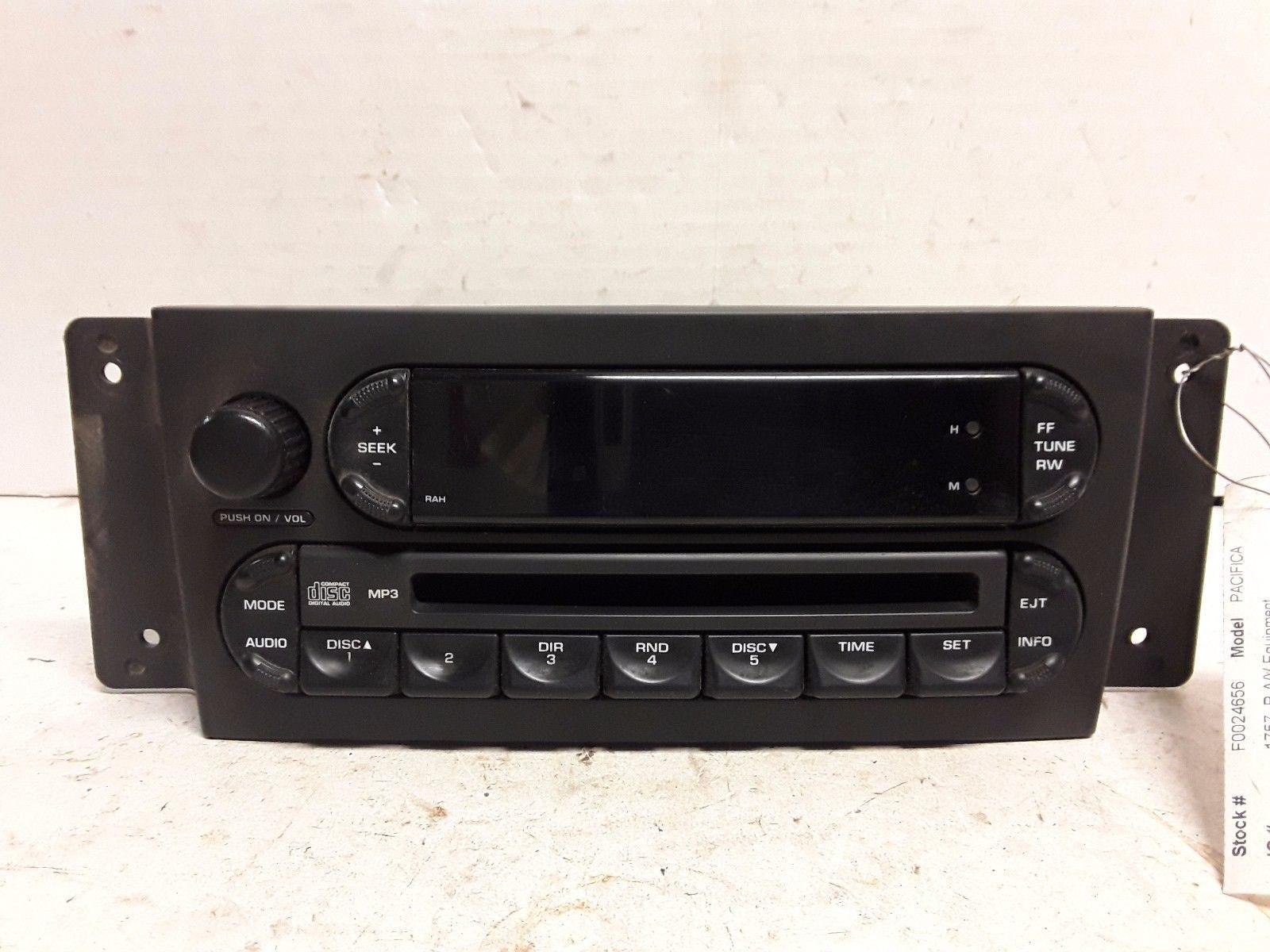 04 05 06 07 08 Chrysler Pacifica AM FM CD radio receiver OEM P05094564AC  RAH
