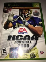 Ncaa Football 2005 For Xbox Original TESTED-COLLECTIBLE VINTAGE-FAST Ship In 24 - $8.60