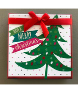1Pc PaperCraft Gift Card Box Have A Merry Christmas Holiday Present Money Gifts - $3.65