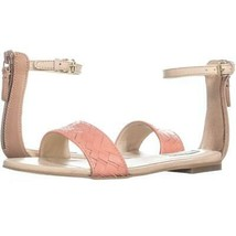 Cole Haan Genevieve Weave Sandal Flat Ankle Strap Sandals 277, - $50.87