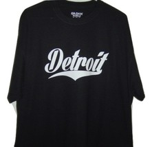 Detroit funny t/shirt  very classic looking Detroit Black T/Shirt All S... - $10.99+