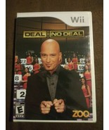 Deal or No Deal (Nintendo Wii, 2009) Rated E 4 Players NIP USA made - $36.62