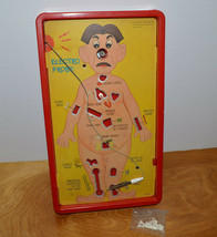 Vintage Operation Board Game 1965 Milton Bradley Antique Toy - $8.79