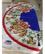 "1999 Daisy Kingdom Cherished Teddies 58"" Tree Skirt/Round Table Cloth - $35.00"