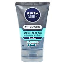 Nivea Men Anti Oil White Acne Mud Foam 100 grams - $12.97