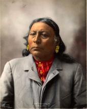 "1899 Chief Towonkonie Jim Wichita 11""x14"" Native American Indian Art Pos... - $12.38"