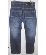SOUTHPOLE Jeans Sz 32 Relaxed High Rise Blue Dark Wash 100% Cotton Denim... - $28.70