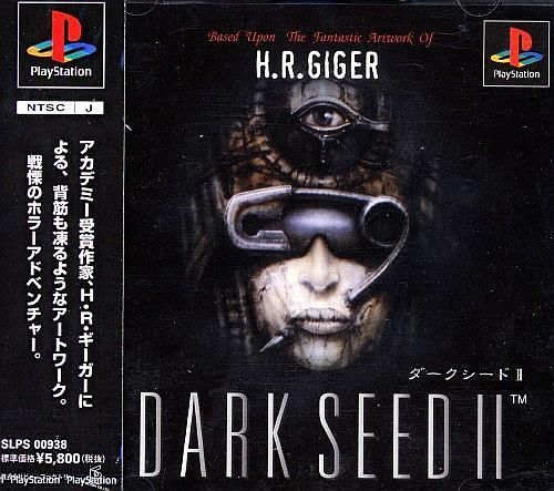 DARKSEED v2 (II), Sony Playstation One PS1, Import Japan Game