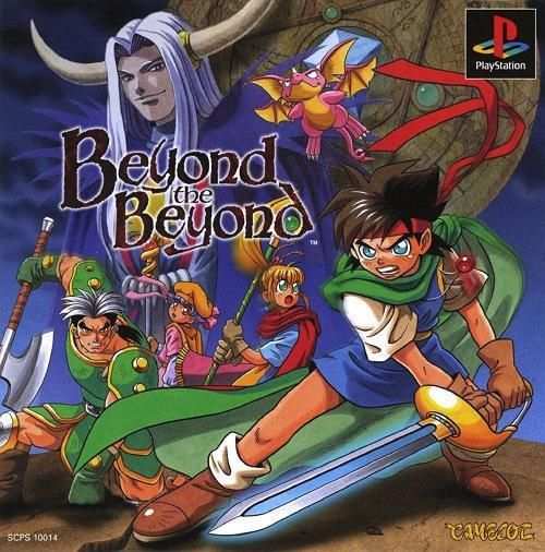 Beyond the Beyond, Sony Playstation One PS1, Import Japan Game