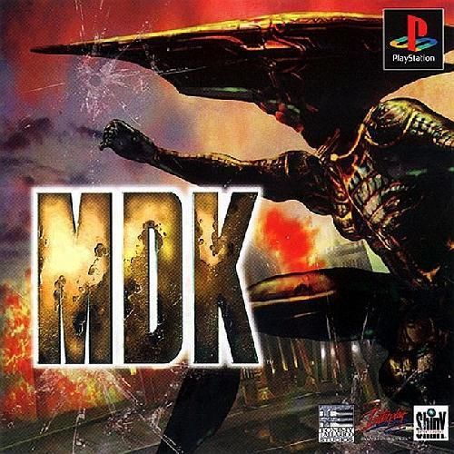 MDK, Sony Playstation One PS1, Import Japan Game
