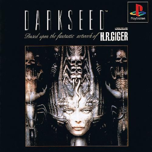 DARKSEED v1, Sony Playstation One PS1, Import Japan Game