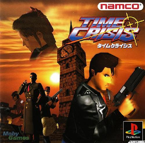 Time Crisis, Playstation One PS1, Import Japan Game