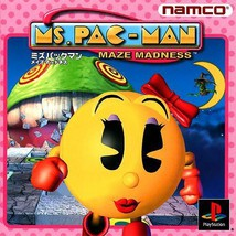 Ms Pac-Man - Maze Madness, Sony Playstation One... - $24.99