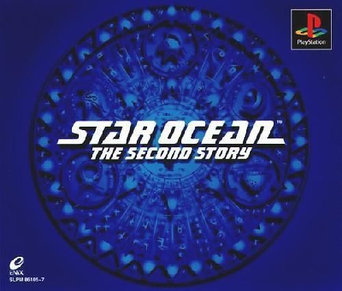 Star Ocean The Second Story, Sony Playstation One PS1, Import Japan Game