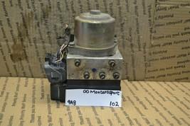 1999-2001 Mitsubishi Montero Sport ABS Pump Control OEM 445104060 Module 102-9A8 - $32.36