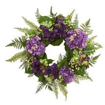 "24"" Hydrangea Berry Wreath - $64.50"
