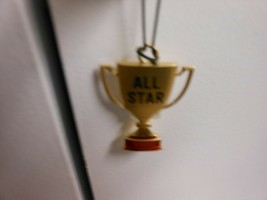 "Hallmark Direct Imports ""All Star"" Gold-Toned Metal Ornament NEW - $10.84"