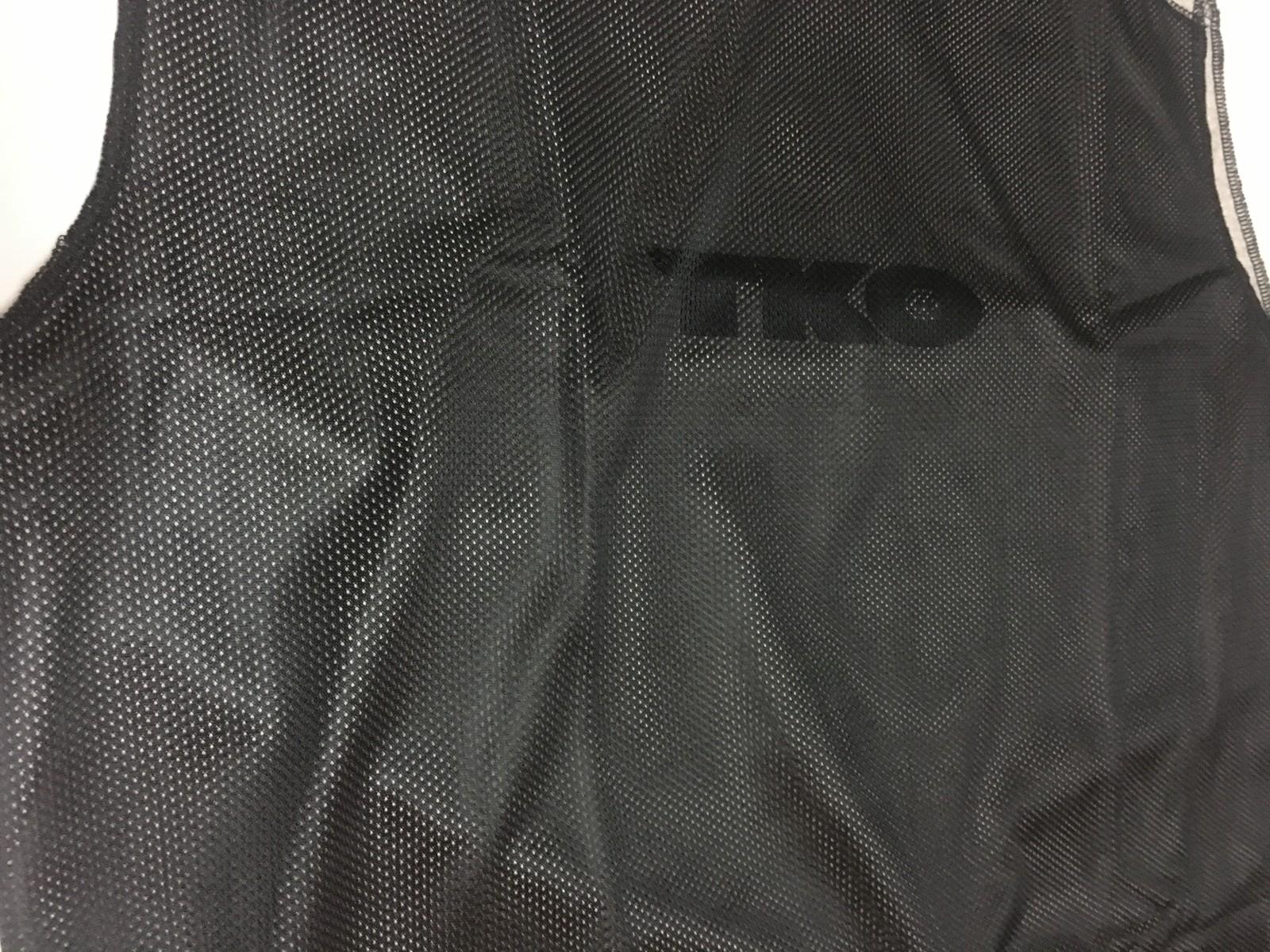 TKO Men's Performance Wear Shirt XL Black & Gray Poly Mesh