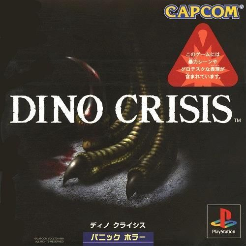 Dino Crisis 1, Sony Playstation One PS1, Import Japan Game