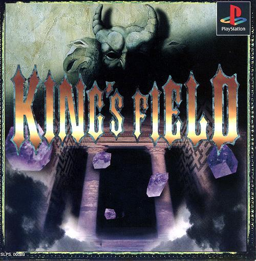King's Field 2, Playstation One PS1, Import Japan Game