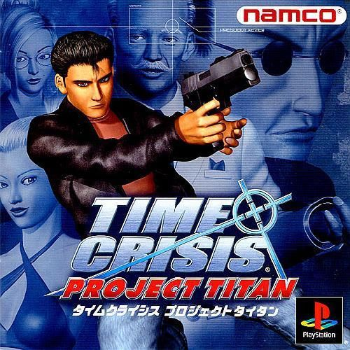 Time Crisis - Project Titan, Playstation One PS1, Import Japan Game