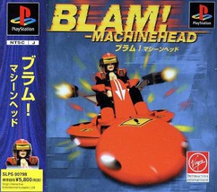 BLAM! Machinehead, Playstation One PS1, Import Japan Game - $16.99